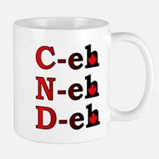 Canada Eh! Funny Canadian T-Shirt Small Mugs