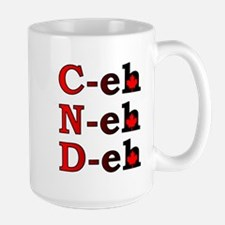 Canada Eh! Funny Canadian T-Shirt Ceramic Mugs