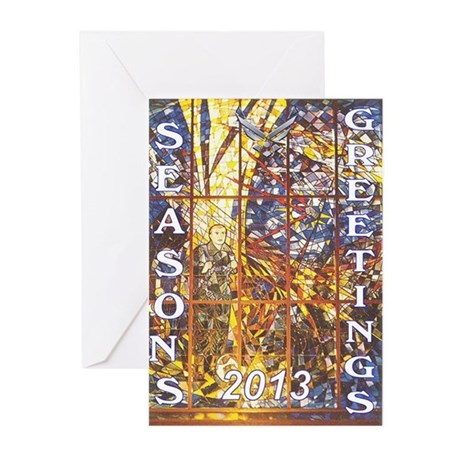 SAC Chapel 7 Greeting Cards (Pk of 10)