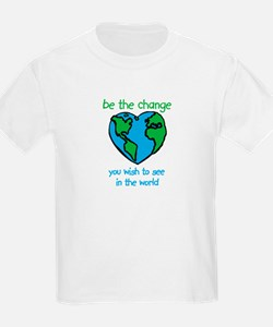 Be the Change Kids T-Shirt
