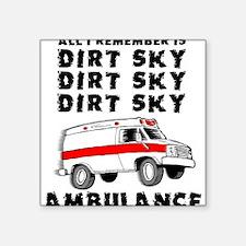 Dirt Sky Ambulance Motocross Mountain Bike Square