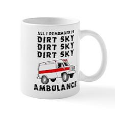 Dirt Sky Ambulance Motocross Mountain Bike Mug