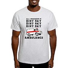 Dirt Sky Ambulance Motocross Mountain Bike T-Shirt