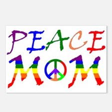 Rainbow Peace Mom Postcards (Package of 8)