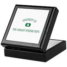 Property Library Keepsake Box