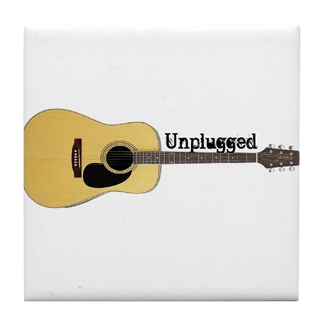Unplugged Tile Coaster