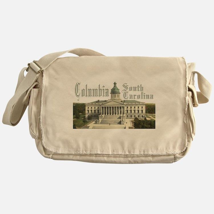 Columbia State House Messenger Bag