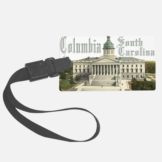 Columbia State House Luggage Tag