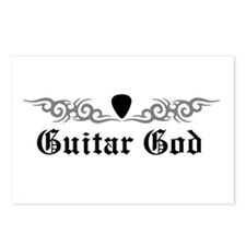 Guitar God Postcards (Package of 8)