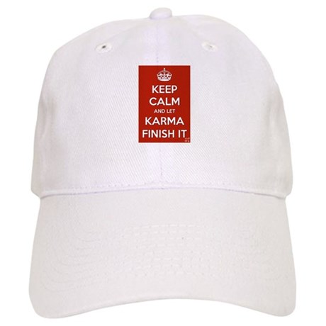Keep Calm and let Karma Finish It Cap