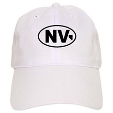 Nevada Map Baseball Cap