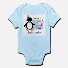 Big Cousin to be (Penguin) Body Suit