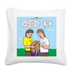 KNOTS Berry Farm Square Canvas Pillow