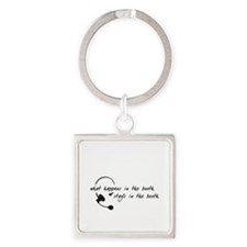 In the Booth Square Keychain