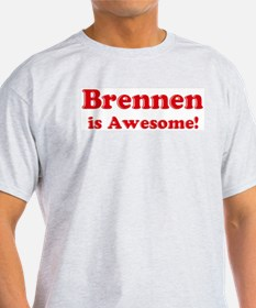 Brennen is Awesome Ash Grey T-Shirt