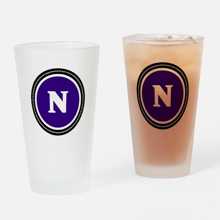 Purple Drinking Glass