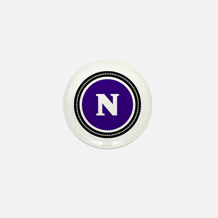 Purple Mini Button
