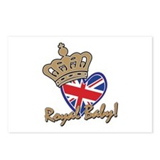 Royal Baby Union Jack Postcards (Package of 8)