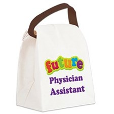 Future Physician Assistant Canvas Lunch Bag