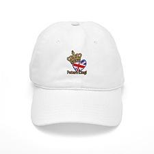 Future King Union Jack Heart Flag Baseball Cap