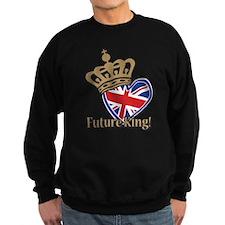 Future King Union Jack Heart Flag Sweatshirt
