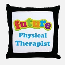 Future Physical Therapist Throw Pillow