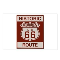 Siberia Route 66 Postcards (Package of 8)