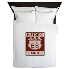 Siberia Route 66 Queen Duvet