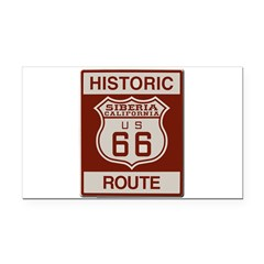 Siberia Route 66 Rectangle Car Magnet