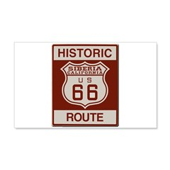 Siberia Route 66 Wall Decal