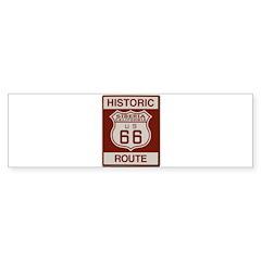Siberia Route 66 Bumper Sticker