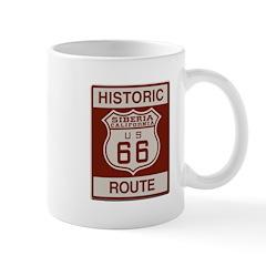 Siberia Route 66 Mug