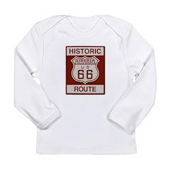 Siberia Route 66 Long Sleeve Infant T-Shirt