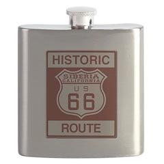 Siberia Route 66 Flask