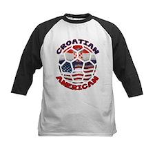 Croatian American Soccer Fan Tee