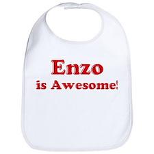 Enzo is Awesome Bib
