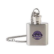 Vail Purple Flask Necklace
