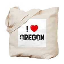 I * Oregon Tote Bag