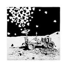 Lunar Rover Of Love Grey Queen Duvet