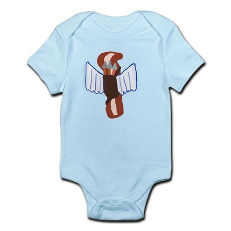 Bacon Cupid Infant Bodysuit