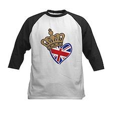 Royal Crown Union Jack Heart Flag Tee