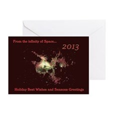 Greetings From Infinity Greeting Cards (Pk Of 10)