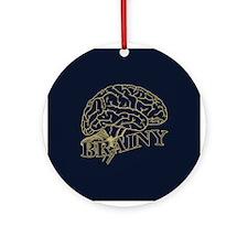 Brainy Ornament (Round)