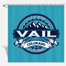 Vail Ice Shower Curtain