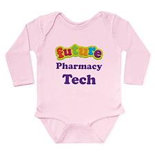Future Pharmacy Tech Long Sleeve Infant Bodysuit