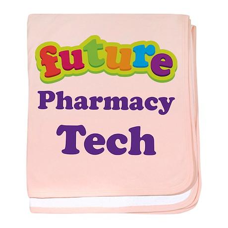 Future Pharmacy Tech baby blanket