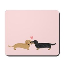 Dachshund Smooch Mousepad