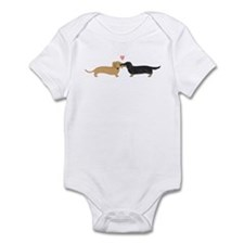 Dachshund Smooch Infant Bodysuit