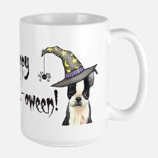 Halloween Boston Terrier Mug