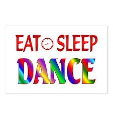 Eat Sleep Dance Postcards (Package of 8)